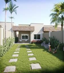 Casas 3 quartos no Eusébio, pe direito elevado 90m² terreno de 6m x 33m