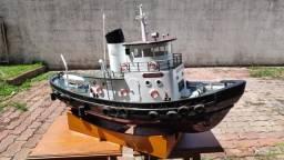 Rebocador Elétrico RC - Atlantic Harbor Tugboat RTR C/ Rádio, Motor e ESC