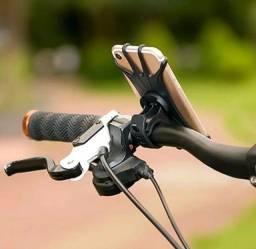 Suporte De Celular 360º De Silicone P/ Bicicleta Moto Bike