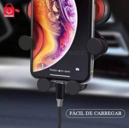Suporte Veicular Celular Saída De Ar Carro Automotivo Gps