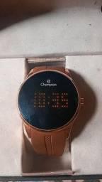 Relógio champiom digital 1 mês de uso na caixa