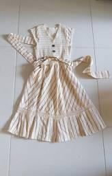 Vestido Tamanho 36 usado uma vez