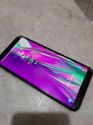 Samsung J8 tela quebrada