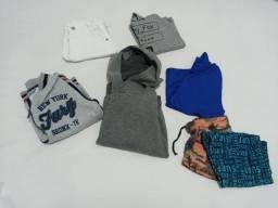 Lote de roupa para menino - Tamanho 4