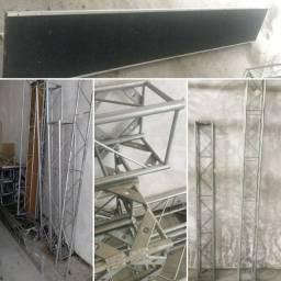 Kit treliças Q20 alumínio