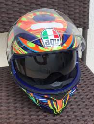 CAPACETE AGV K3 SV FIVE CONTINENTS ORIGINAL