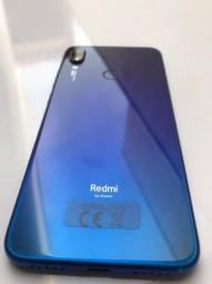 Xiaomi Redmi not 7 azul 64gb memória e 4gb ram