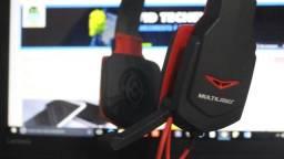 Headset Multilaser com Microfone - P2 (Lojas WiKi)