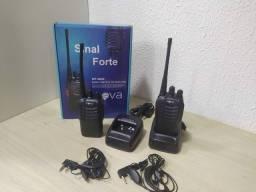 Rádios Comunicadores HT Inova 16 canais - Preto