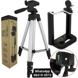 Tripe De Aluminio Para Camera Com Nivel Bolha 1.5m<br>