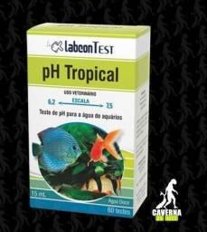Teste Ph Tropical 15ml Faz 60 Testes