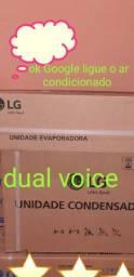 Ar condicionado split LG dual voice 12.000