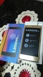 Lenovo k6 16G dual chip novo na Caixa