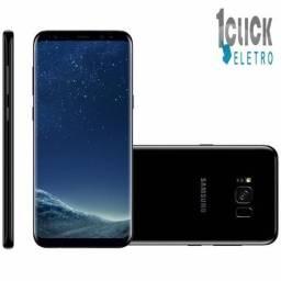 "Smartphone Samsung Galaxy S8+ 64GB Preto 4G Tela 6.2"" 12MP Anatel, Novo"