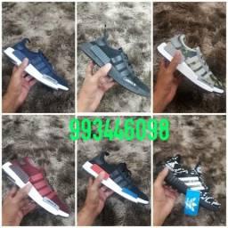 Tênis adidas equipment e adidas 3d