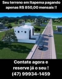Lotes em Itapema por 850,00 mensais Venha conferir