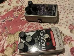 Pedal Eletro Harmonix Memory Toy (Delay Analógico)