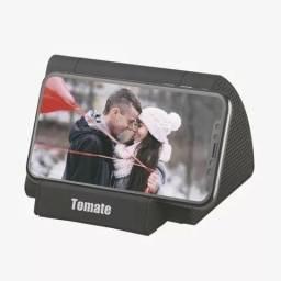 Caixa De Som De Indução Tomate - Para Celular