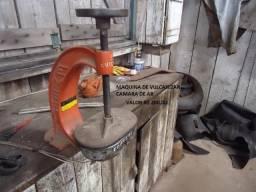 Máquina para vulcanizar câmara de ar