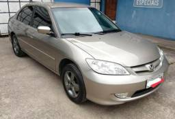 Civic LX 2006 Bx.km Completo - 2006