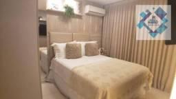 Apartamento com 2 dormitórios à venda, 53 m² por R$ 299.000 - Jóquei Clube - Fortaleza/CE