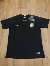 Camisa de Goleiro do Brasil Temporada 2018 2019 c536f800bc3f5
