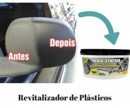 Revitalizador de Plásticos Wax Finish (Carro, Moto.)