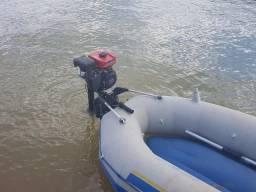 Bote inflável com motor - 2015