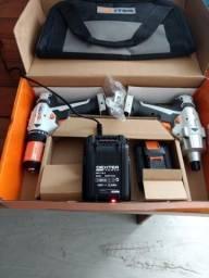 Kit de Parafusadeira de impacto 140N e Parafusadeira 40N