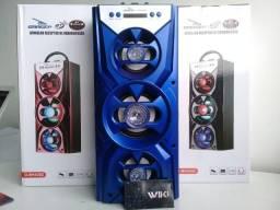 Caixa de som Amplificada Bluetooth 20w (Lojas WiKi) Entrega gratis!