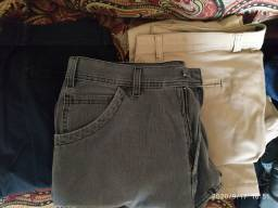 Calça jeans e sarja