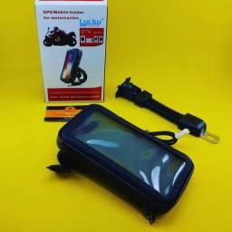 Suporte de Celular ( Celular - Moto ) Com Carregador USB