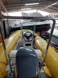 Bote flyboat motor 40hp