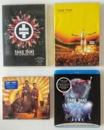 Take That (lote) 1 Blu-ray Raro / 2 Dvds + 1 Cd - Importados