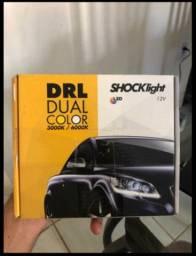 DRL 45cm com luz de pisca integrado