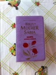 BÍBLIA DE ESTUDO DA MULHER POR 135 REAIS. SEMINOVA