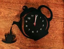 Relógio de Parede -Bule