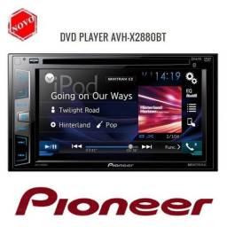 Dvd 2 din pioneer x2880bt, o melhor dvd da pioneer em qualidade de audio,estado de zero.