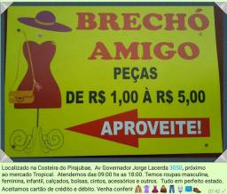 Brechó na Costeira do Pirajubae, compre para criar o seu brechó