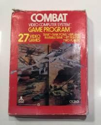Caixa e manual originais - Combat Atari 2600
