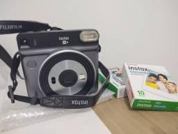 Câmera instantânea Fujifilm Instax SQ6 + 2 filmes