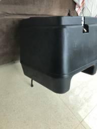 Baú moto removível 135 litros