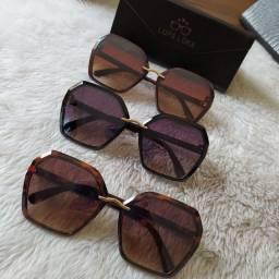 Óculos de sol feminina lançamento lupaloka