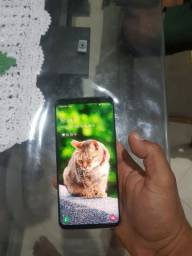 SAMSUNG S9 Plus, Tela 6,2, 6 Ram, 64 G, carregador, nota e capa flip