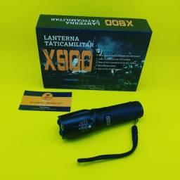 Lanterna X900 ( Recarregável ) LED