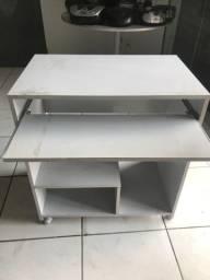 Mesa para computador cinza