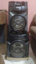 Caixas de Som do aparelho Sony Genesis GTR888