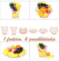 Fruteira Dobrável Afamada 6 em 1