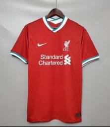 Blusa do Flamengo( Camisa 1), Blusa do Cruzeiro( Camisa 3) e Blusa do Liverpool(Camisa 1)