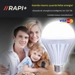 Lâmpada Inteligente (acende mesmo sem energia!)